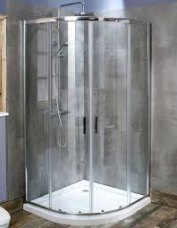 800 Shower Door Montage Quadrant Shower Enclosure 800 X 800mm