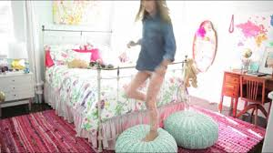 girls bedroom decorating ideas room tour youtube