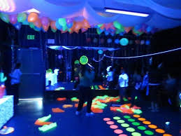 neon party ideas black light neon birthday party ideas photo 1 of 13 catch my party