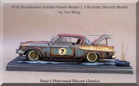 car junkyard in the philippines junkyard car 1 18 scale diecast car 1958 studebaker golden