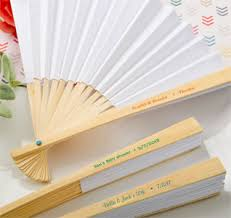 white paper fans wedding fans fan favors wedding fan favors