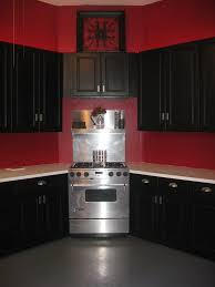 Red Kitchen Walls by Red And Black Kitchen Decorating Ideas Outofhome