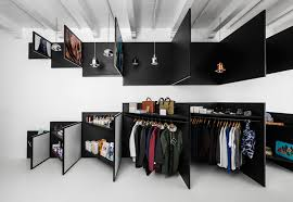 frame magazine retail store in amsterdam combining 2d and 3d visual