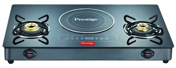 Hybrid Gas Induction Cooktop Prestige Gas Stove Glass Top Hybrid Gtic 03l Kitchenwarehub
