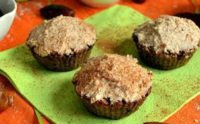 flourless and sugar free carrot cake muffins vegan one green