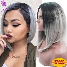 black women short grey hair grey ombre on short hair best short hair styles