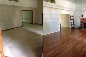 Brazilian Teak Laminate Flooring Before And After November U0027s Top Makeovers