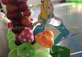 Alice In Wonderland Theme Party Decorations Birthday Party Decorations Party Balloons For Birthdays