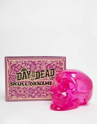 skull ornament small pink images at mighty ape nz
