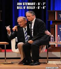 Bill O Reilly Memes - jon stewart bill o reilly