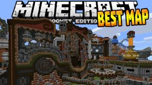Best Map Best Redstone Map In 0 15 0 Mcpe Rube Gold Berg Map