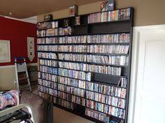 Blu Ray Shelves by Dvd Shelves Made From Vhs Tapes Lol Could Make A Good Book
