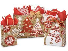 christmas paper bags christmas gift packaging never looked better