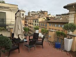 rooftop patio picture of 9 hotel cesari rome tripadvisor