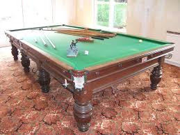 how big is a full size pool table george wright full size snooker table for sale in oak with large