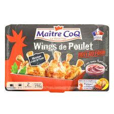 cuisiner un coq au four maître coq wings de poulet rôti au four cookbox 270g houra fr