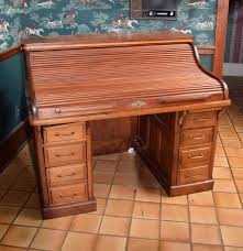 Antique Roll Top Secretary Desk by Antique Mahogany Roll Top Desk By The Gunn Furniture Company Ebth