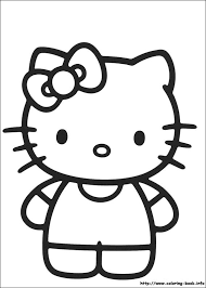 kitty coloring picture illustration u0026 design