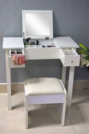 Narrow Vanity Table Awesome Narrow Makeup Vanity Table With Best 10 Small White Small
