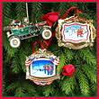 white house ornament collection