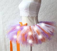 light up christmas skirt girls kid s led tutu dress fancy light up short mini skirt party