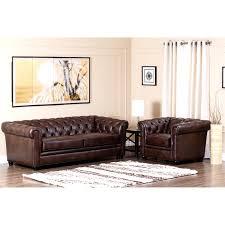 Leather Sofa And Armchair Abbyson Living Ci 9193 Brn 3 1 Foyer Premium Italian Leather Sofa