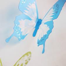Stickers For Kids Room 18pcs 3d Butterflies Diy Home Decor Wall Stickers For Kids Room