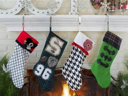 how to make a no sew felt stocking hgtv