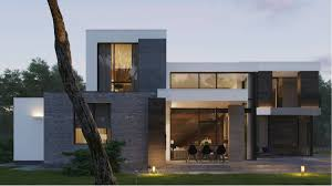 High End Home Plans by Affordable Nice Design Modern Home Plans That Has Grey Wall Can