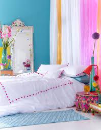 pom pom king duvet accessorize colourful bedroom cool for