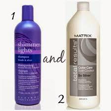 silver blonde color hair toner these products are the best to get any brassy orange color out of