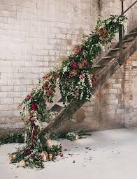 Bridal Garland Ascent Your Wedding Reception With Flower Garland Ideas