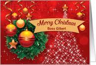 christmas cards boss greeting card universe