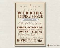 rehearsal dinner invitations rehearsal dinner invitation etsy