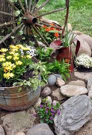 Rustic Landscaping Ideas For A Backyard 10 Enchanting Country Gardens That Ll Charm Your Socks Oak