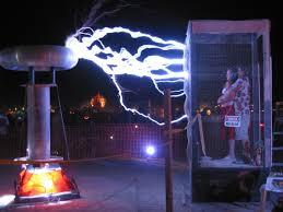 tesla coil burning man 2003 dr megavolt