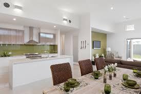 Kitchen Cabinet Bulkhead Silkwood 281 Display Homes G J Gardner Homes Ballarat