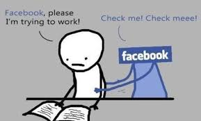 Meme Facebook - always when you are trying to study facebook study uni