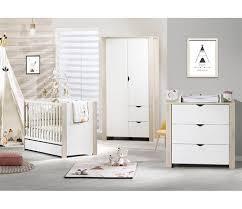 chambre bebe lit et commode chambre bébé lit 120x60 commode armoire tipee vente en ligne de
