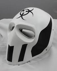 cool masks cool white prop paintball airsoft pc lens eye protection
