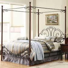 25 masterpiece full size canopy bed frame subuha