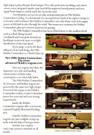 holden vl commodore brochure
