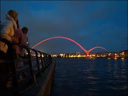 tees in pictures pictures infinity bridge opens