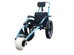 siege pour handicapé fauteuil roulant de plage et tout terrain hippoce vipamat