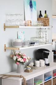 Small Kitchen Shelving Ideas Interesting Types Of Open Kitchen Shelving Artenzo