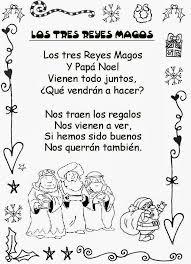 imagenes para colorear y escribir oraciones frases de navidad para niños de preescolar