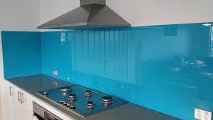 blue glass kitchen splashback google search kitchen and dining