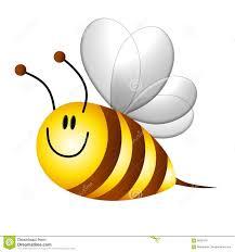 bumble bee cartoon flying
