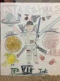 10 years ago when i was 11 i drew my own star wars episode 7