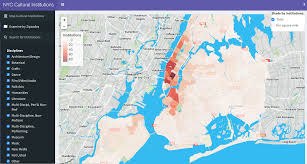 New York City Zip Codes Map by Cultural Institutions Of New York City Nyc Data Science Academy
